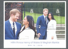 Guernsey-Royal Wedding 2018-Prince Harry-Meghan Markle m/s-Royalty