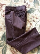 LEE Women's NO GAP Comfort Waistband Brown Casual Pants Sz. 10 Short
