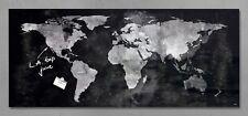 Sigel Glas Magnet Board GL246 130x55 Magnettafel Tafel Pinnwand Weltkarte
