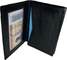Leather Business Amp Credit Card Holder Fifty Card Case Id Window