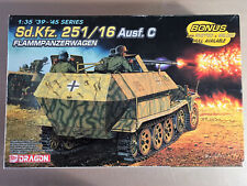 DRAGON 6202 - Sd.Kfz. 251/16 Ausf. C FLAMMPANZERWAGEN - 1/35 PLASTIC KIT
