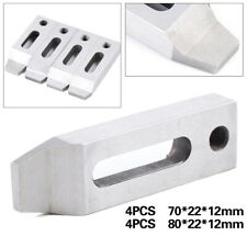 Cnc Wire Edm Stainless Jig Holder 4pcs For Clamping 70mm / 80mm Screw:M8 x 1.25