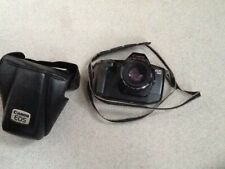 CANON .  EOS 650 CAMERA .EF 50mm 1:1.8LENSE .With leather case.