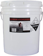 50 Lb Red Hot Devil Lye Sodium Hydroxide Meets Food Chemical Codex High Grade Ca