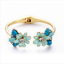 Brighton Beach Blue Flower Bracelet