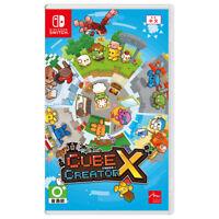 Cube Creator X Nintendo Switch 2018 English Chinese Japanese Factory Sealed