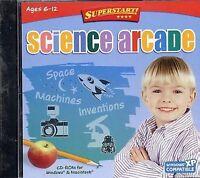SuperStart! Science Arcade Game Computer PC Mac STEM STEAM