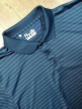 Under Armour Shirt Adult Extra Large Blue Golf Rugby Casual Short Sleeve Mens *