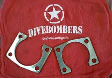 """9"""" Inch Ford Big Ford Old-Style 1/8 Axle spacer Plates, backing plate replacemet"""