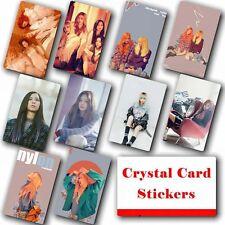 10pcs/set Kpop BLACKPINK Collective HD Lustre Photo Card Crystal Card Sticker