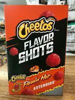 Cheetos Asteroids Flavor Shots Cheetos Flamin Hot Asteroids 6 Pack