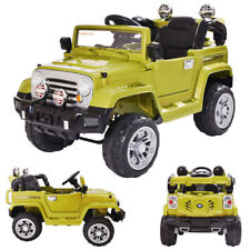 12V Kids Ride On Battery Powered Toy Vehicle Remote Control w/ Mp3 Led Lights