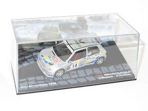1/43 Renault Clio Maxi  Diac  Rally Monte Carlo 1995  Jean Ragnotti