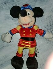 """New listing Vintage Disney Store Mickey Mouse Nutcracker Soldier 10"""" Plush Toy"""