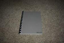 Maserati Merak AM 122 USA modification booklet 1974 MIE REPRINT