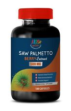 hair loss prevention - Saw Palmetto Berry 500mg 1B - DHT prevention