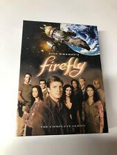 Whedon 4 Disc Set Excellent Firefly The Complete Series Dvd Joss