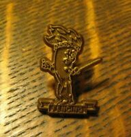 Olympic Fencing Team Vintage Lapel Pin - Summer Games Swordsmanship Souvenir