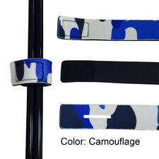 Fishing Rod Tie Strap Belt Tackle Elastic Wrap Band Pole Holder Accessories Camouflage