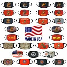 US Marine Adult Size Face Mask | Reusable Washable | Handmade in USA