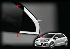 Chrome Window Sill C Pillar Trim 2p 1Set For 12 Kia Rio : All New Pride 5d