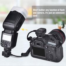 Viltrox SC-30 TTL Off Camera Hot Shoe Light Flash Sync Cord Cable For Nikon Cam