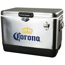 Corona Stainless Steel Beer Cooler 54 quart with Opener - Free Shipping