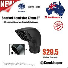 3 inch 77mm Snorkel Air Ram Head Safari Airflow Replacement