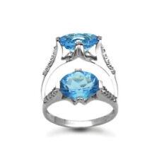 Topaz White Fine Diamond Rings
