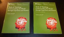 """Teaching Company Great Courses """"TOOLS OF THINKING"""" (4-DVD 2005) Hall GREAT SHAPE"""