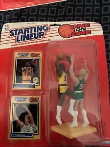 1989 Starting Lineup One On One Larry Bird / Magic Johnson