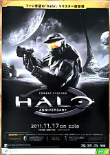 Halo Combat Evolved RARE XBOX 360 ONE 51.5 cm x 73 cm Japanese Promo Poster