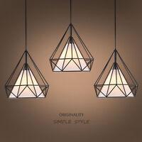 Modern Style Metal Geometric Cage Ceiling Pendant Light Lightshade Lamp Shades