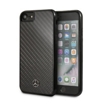 MERCEDES BENZ Real Carbon Fiber Hard Case iPhone 7 and iPhone 8 360 Protection