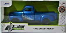 2021 Jada Just Trucks 🔵1953 Chevy Pickup Blue 🔵 1:32 Metal Diecast