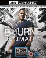 THE BOURNE ULTIMATUM- (4K UHD+BD+UV) [Blu-ray] [2017] [DVD][Region 2]