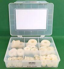 DIN 9021 Karosseriescheiben Sortiment Polyamid  ø4,3 - 13mm Kunststoff 230-telig