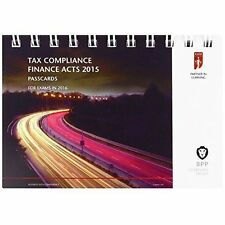 ICAEW Tax Compliance: Passcards, Very Good Condition Book, BPP Learning Media, I