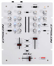 EPSILON INNO-MIX 2-Channel Battle Scratch DJ Mixer+INNO Cross Fader - White