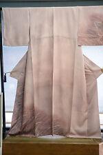 Vintage Japanese silk  Kimono  TUKESAGE   from Japan 2-42