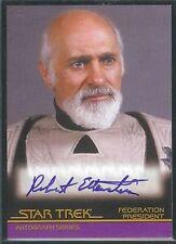 Complete Star Trek Movies Auto A32 Robert Ellenstein Federation President