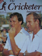 THE CRICKETER INTERNATIONAL MAY 1982 - T.J. HEARNE