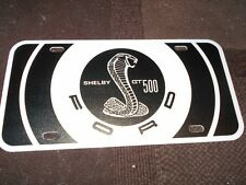 2011 2012 2013 2014 FORD MUSTANG SHELBY GT GT500 GT-500 LOGO LICENSE PLATE NEW