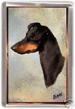 Manchester Terrier Fridge Magnet No 1 by Starprint