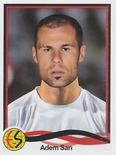 N°111 ADEM SAN # TURKEY ESKISEHIRSPOR ES STICKER PANINI SUPERLIG 2011