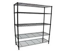 HDX 5-Shelf Storage Unit Organizer Heavy-Duty Shelving Steel Rack Garage Home