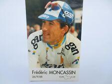 wielerkaart 1996 team gan frederic moncassin