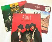 3 x ASWAD Reggae Vinyl LP's Renaissance / Distant Thunder + Not Satisfied