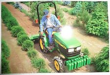 *John Deere Dealers 4100 Compact Tractor Postcard New Old Stock!1997 literature