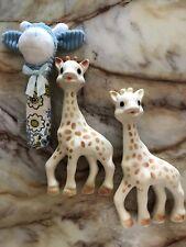 Baby Toy Teether Sophie La Girafe Giraffe Rattle As New